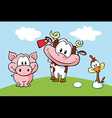 Animal farm vector