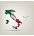 Flag of italy as a country vector