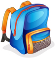 A school bag vector