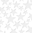 Seamless stars paper pattern vector