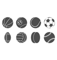 Sport items icons vector