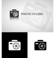 Photo studio logo vector