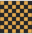 Vintage chess board background vector