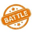Battle grunge icon vector