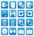 Pc icon basic style vector