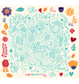Menu with doodles vector