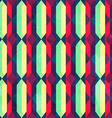 Vintage diamond seamless pattern with grunge vector