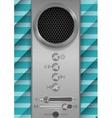 Abstract speaker concept design vector