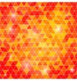 Abstract background of triangular polygons vector