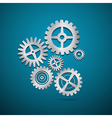 Abstract cogs - gears vector