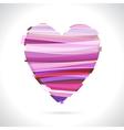 Red broken heart vector