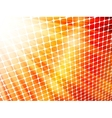 Red yellow rays light 3d mosaic eps 10 vector