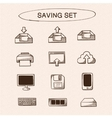 Save and store data symbols set vector