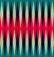 Vintage rhombus seamless pattern vector
