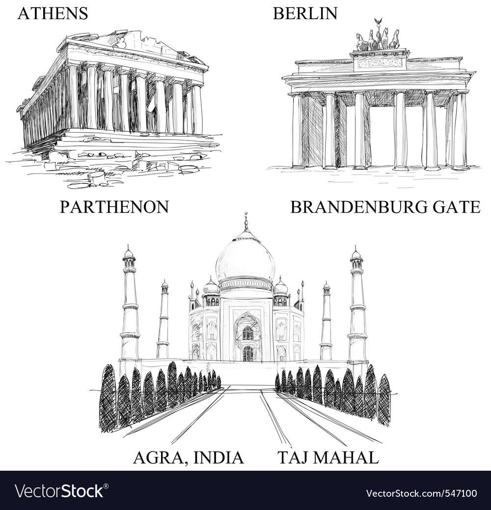 Architectural symbols vector | Price: 1 Credit (USD $1)
