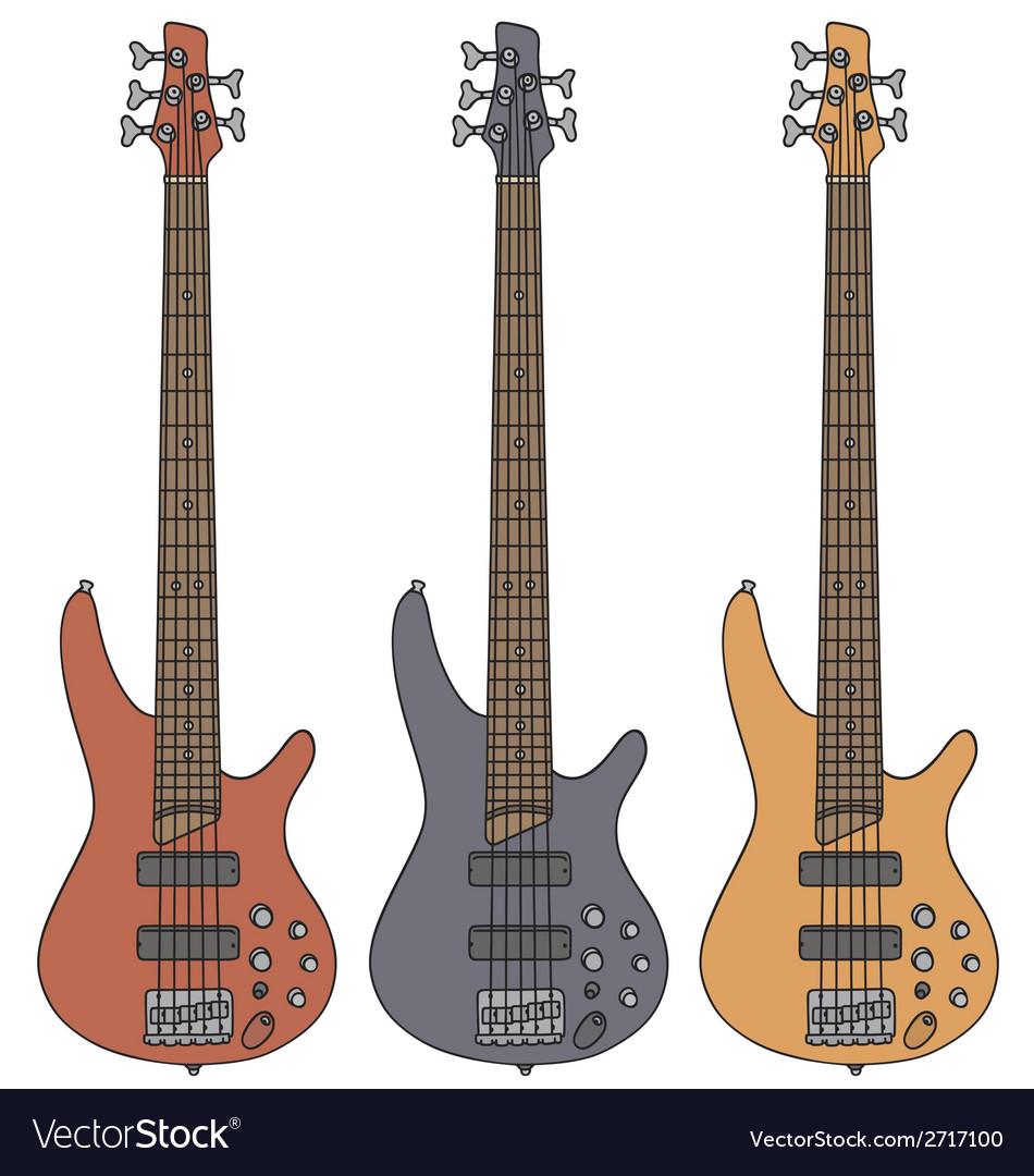 Bass guitar vector   Price: 1 Credit (USD $1)