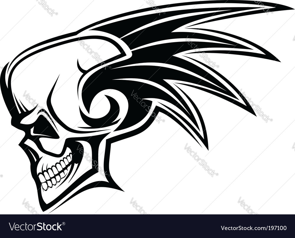 Danger skull vector | Price: 1 Credit (USD $1)