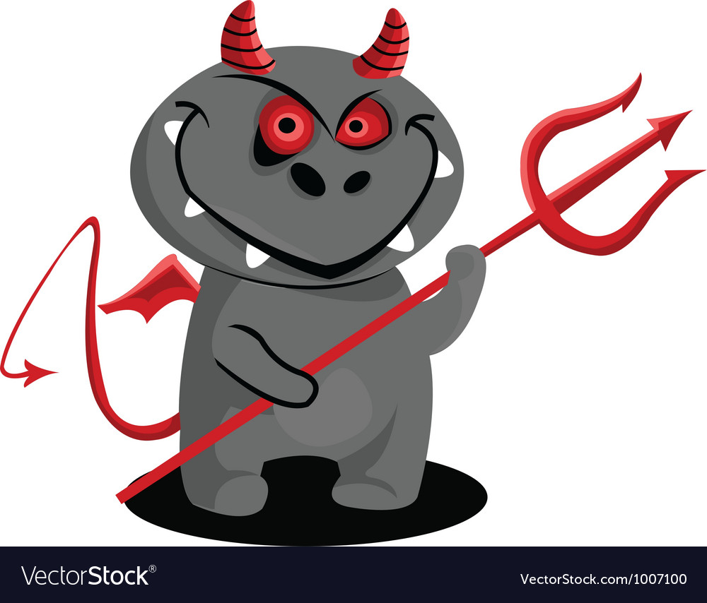 Demon vector | Price: 1 Credit (USD $1)