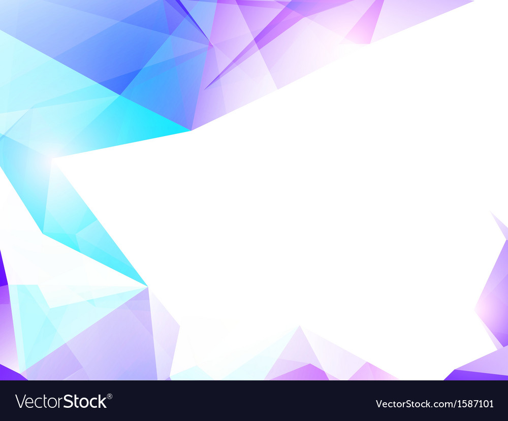 Abstract violet and turquoise background vector | Price: 1 Credit (USD $1)