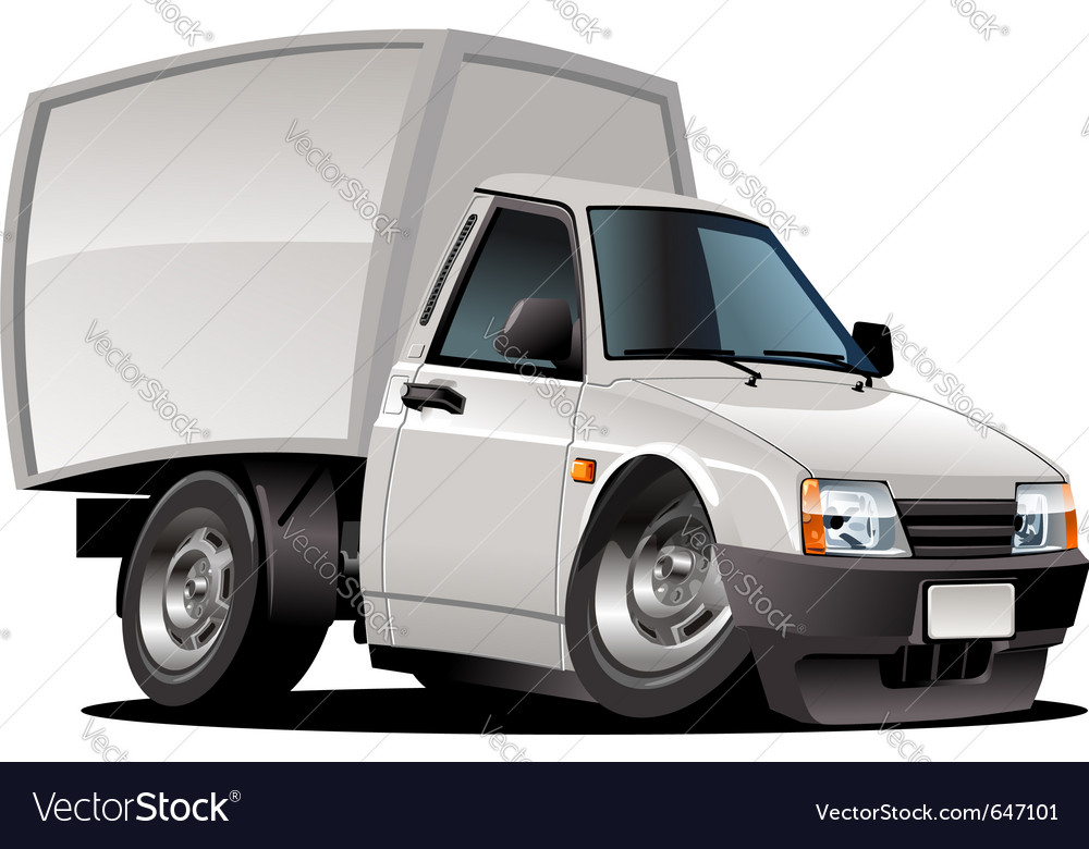 Cartoon delivery pickup vector | Price: 3 Credit (USD $3)