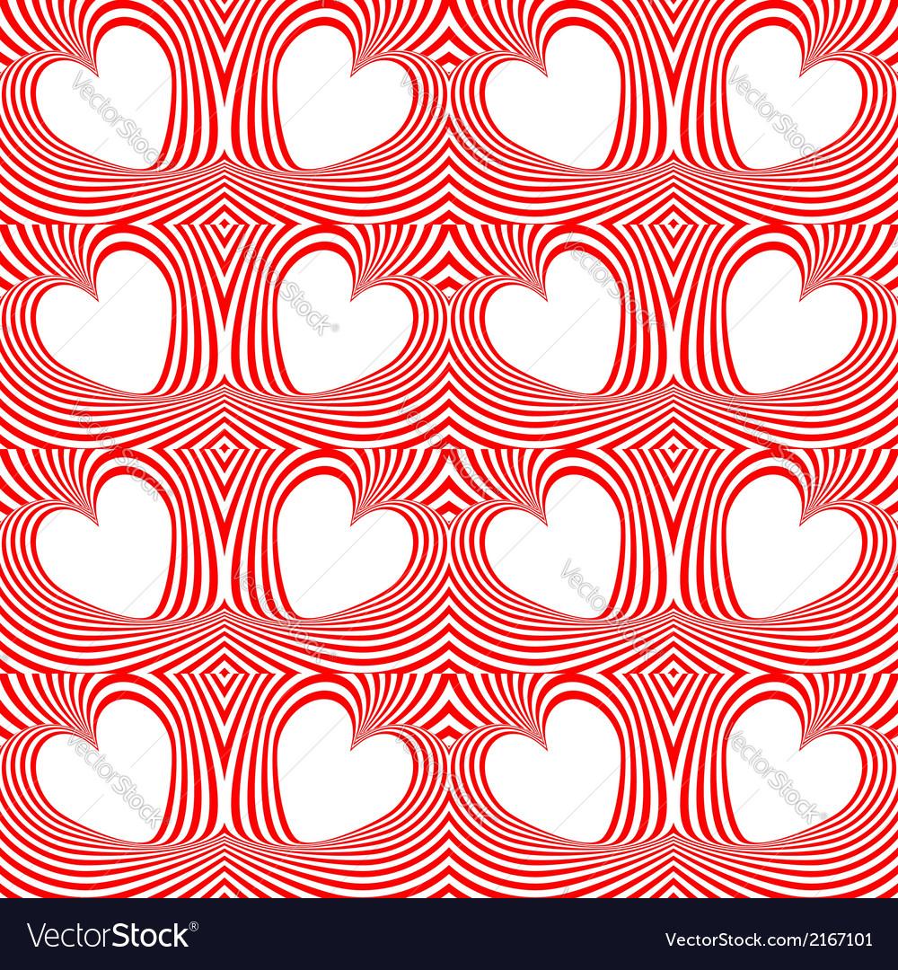 Design seamless twirl movement stripy pattern vector | Price: 1 Credit (USD $1)