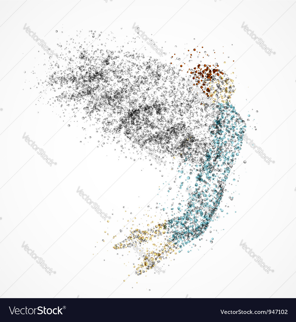 Abstract angel vector | Price: 1 Credit (USD $1)