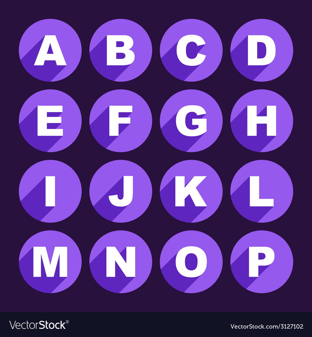 Alphabet letters vector   Price: 1 Credit (USD $1)
