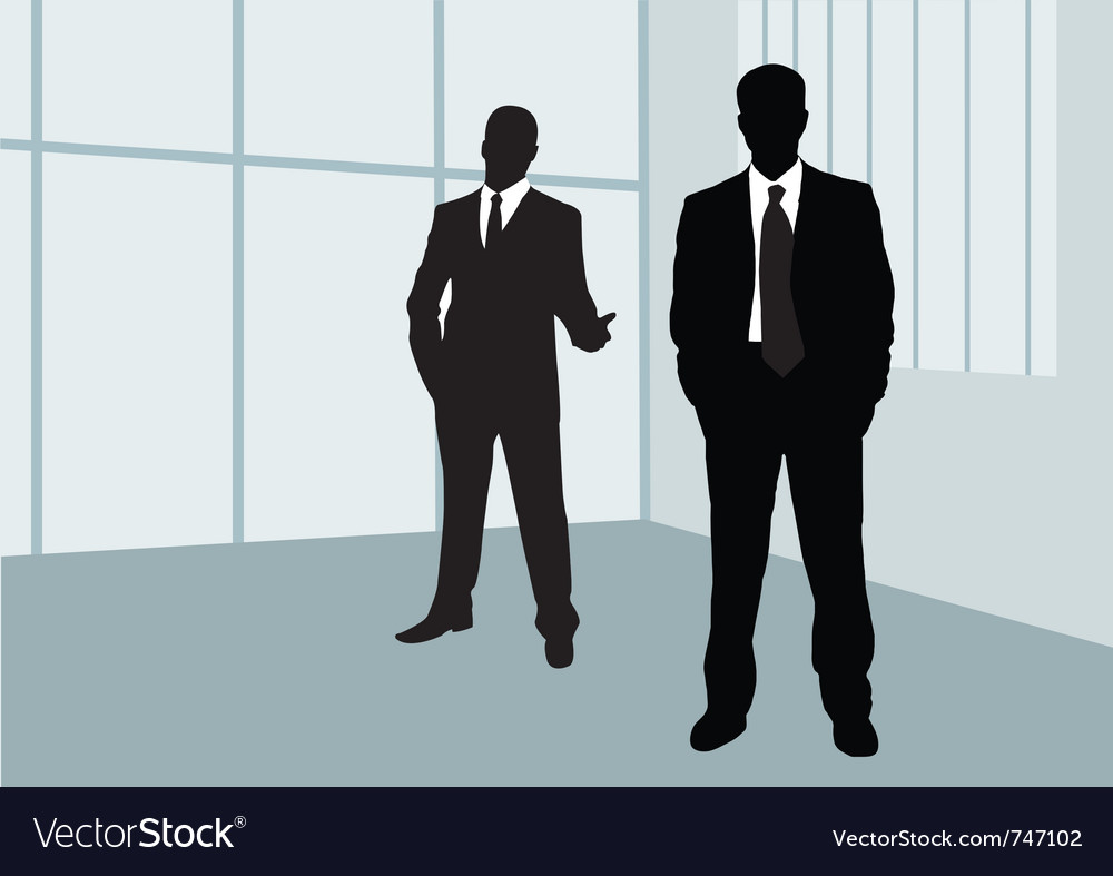 Businessmen vector | Price: 1 Credit (USD $1)