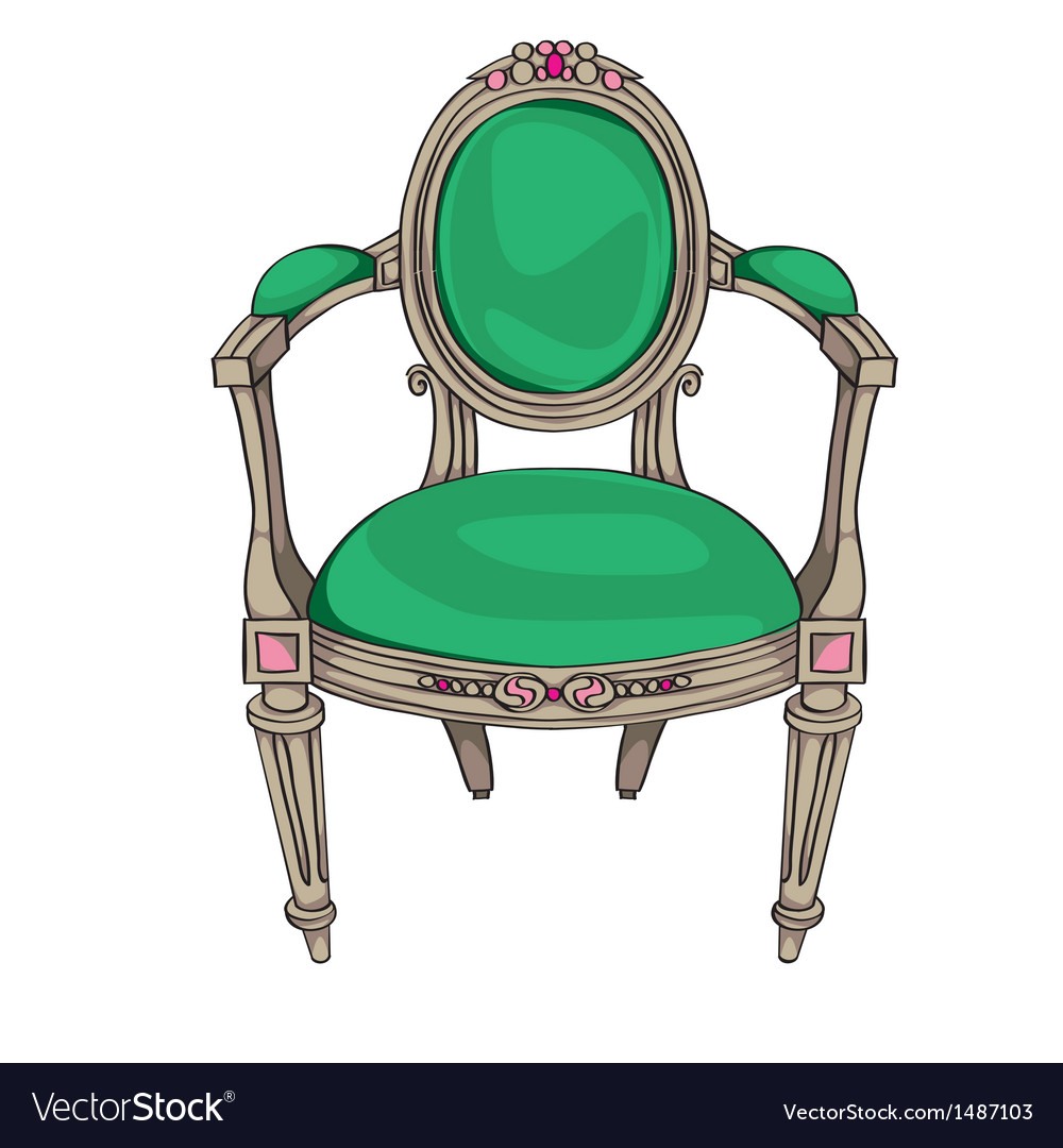 Classic chair vector | Price: 1 Credit (USD $1)