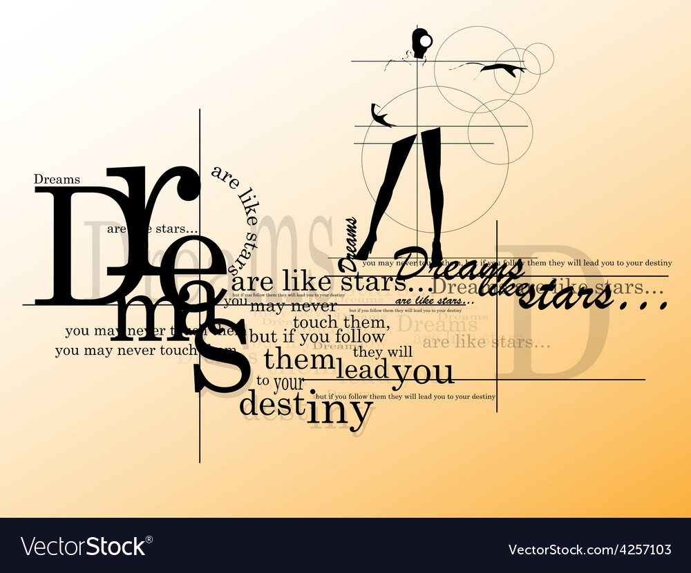 Inspiring quote vector | Price: 1 Credit (USD $1)