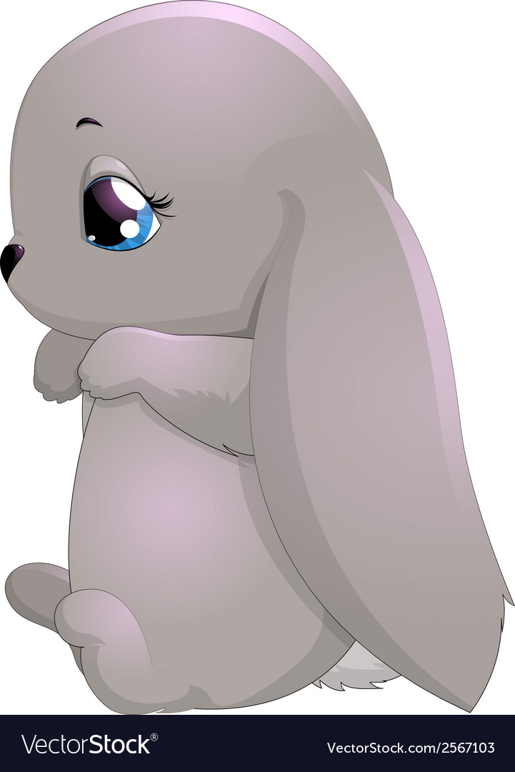 Rabbit little vector | Price: 1 Credit (USD $1)