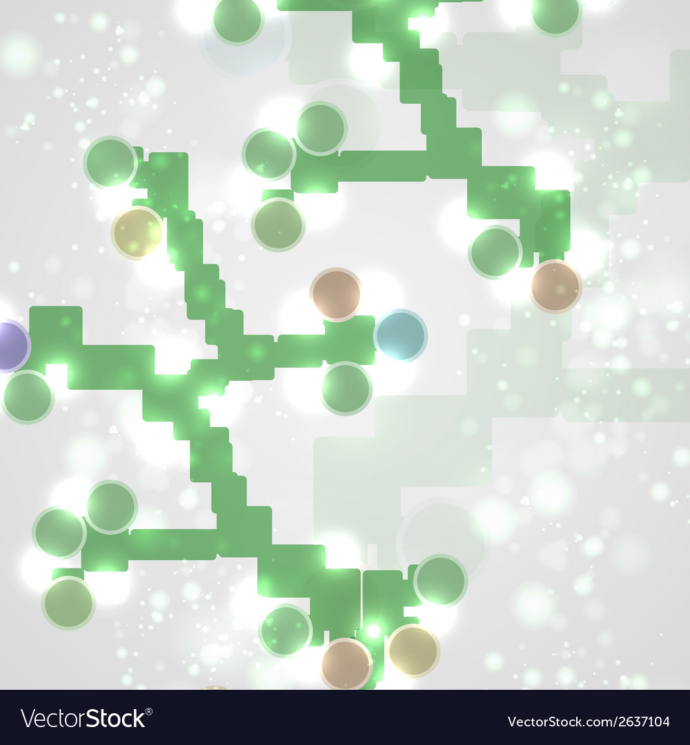 Abstract colorful dna vector   Price: 1 Credit (USD $1)