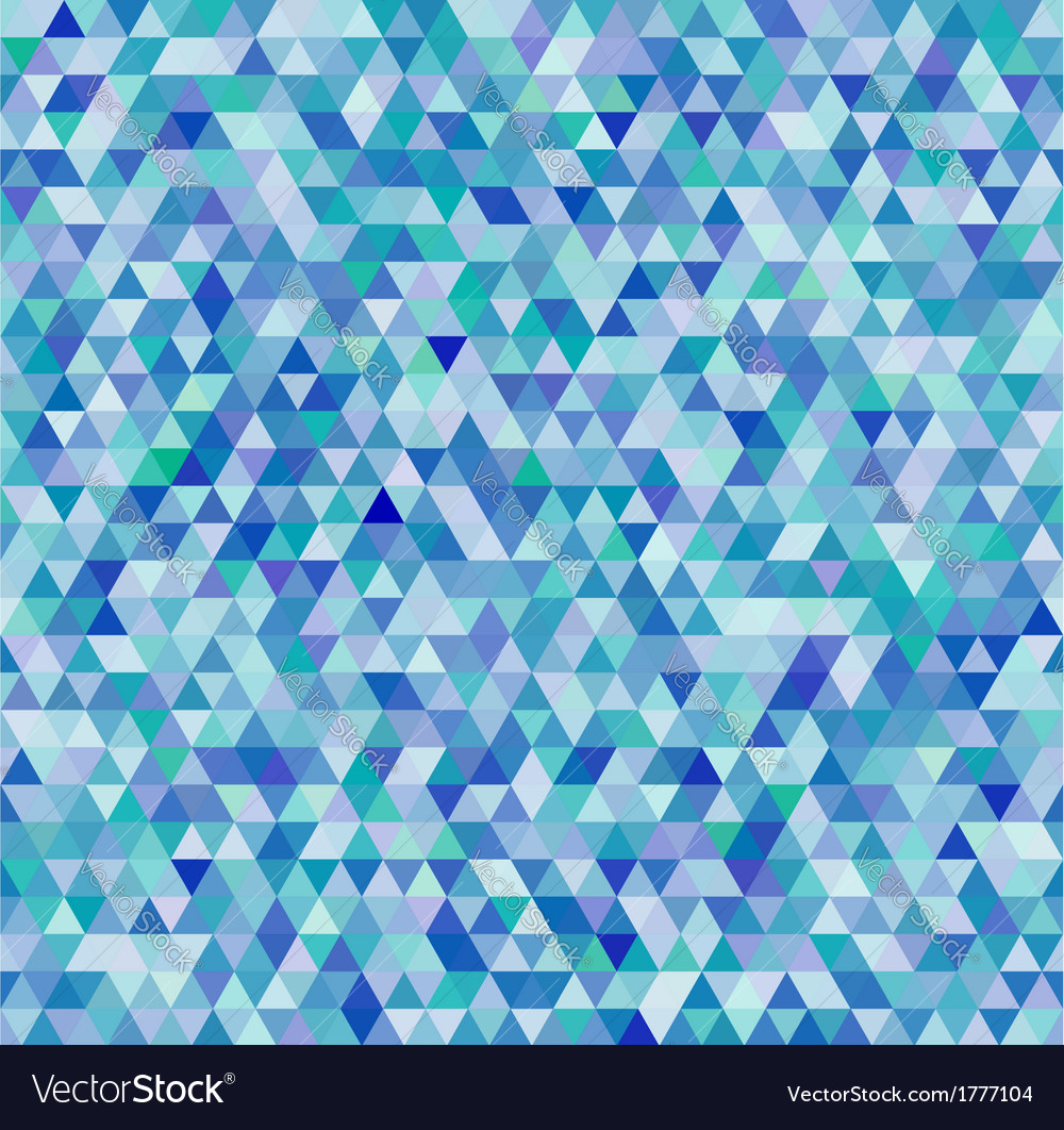 Colorful triangles geometric seamless pattern vector | Price: 1 Credit (USD $1)