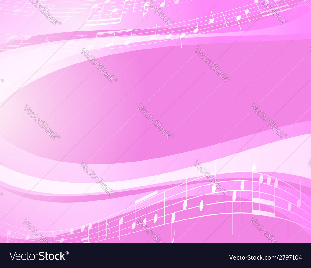 Light music wavy background vector | Price: 1 Credit (USD $1)