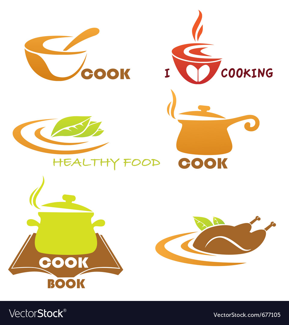 Meal symbols collection vector | Price: 1 Credit (USD $1)