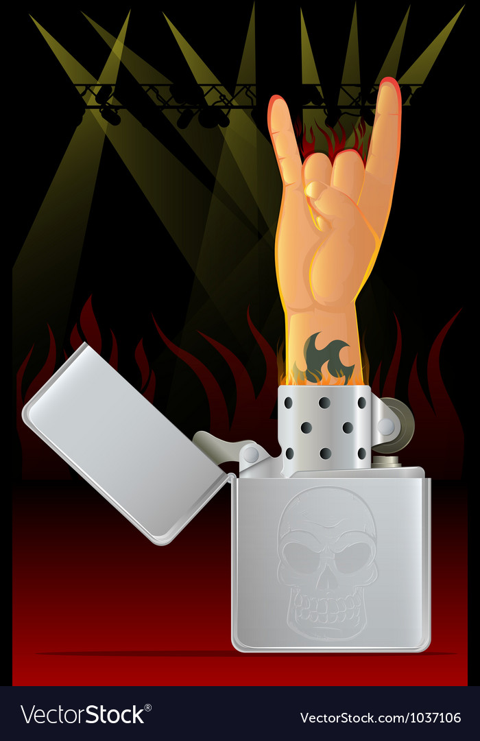 Concert lighter vector | Price: 1 Credit (USD $1)