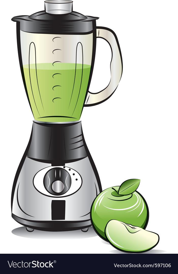 Kitchen blender vector | Price: 3 Credit (USD $3)