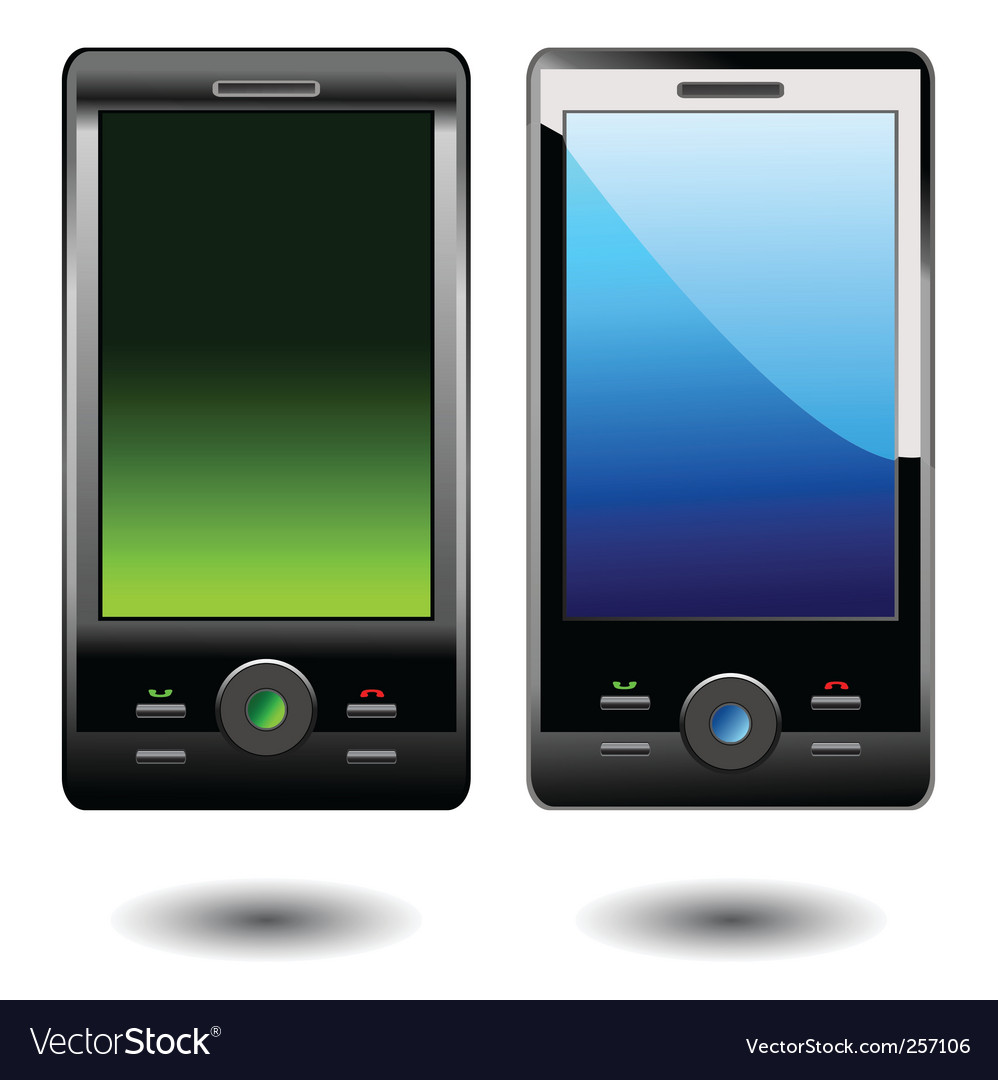 Mobile phone vector | Price: 1 Credit (USD $1)
