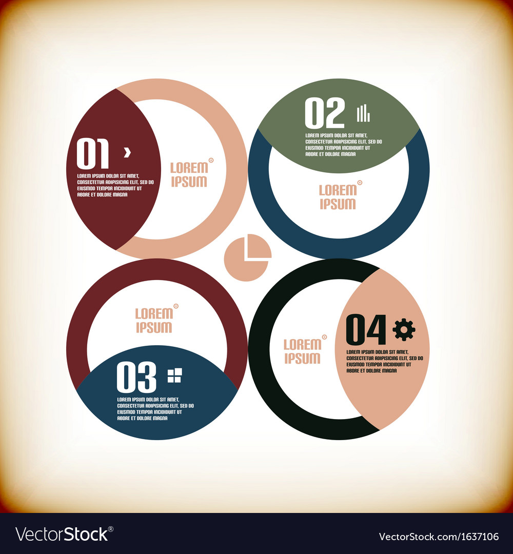 Modern business chart banner template vector | Price: 1 Credit (USD $1)