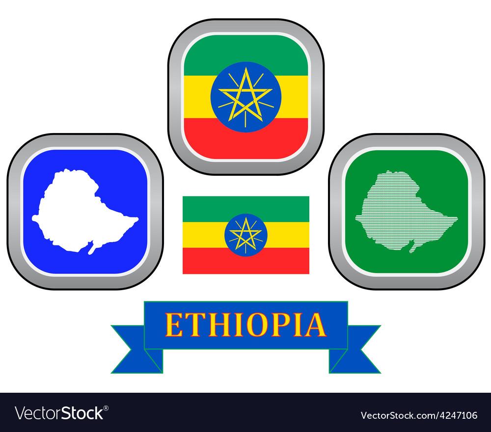 Symbol of ethiopia vector | Price: 1 Credit (USD $1)