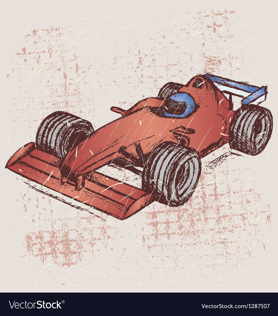 Formula 1 race vector | Price: 1 Credit (USD $1)