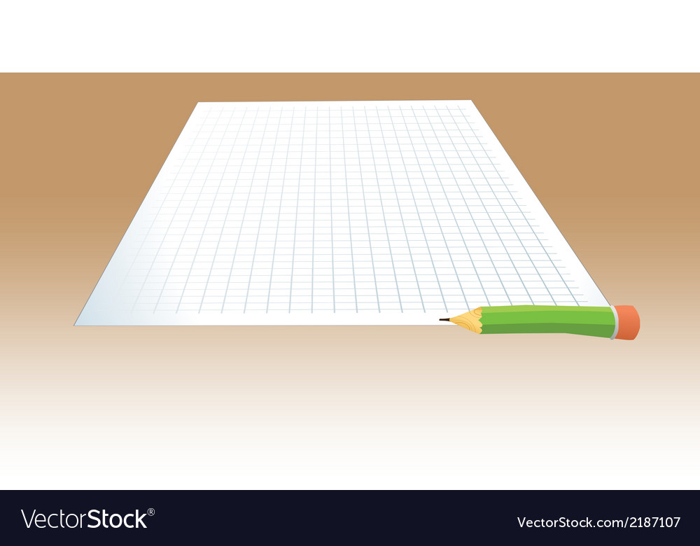 Paper pencil test vector | Price: 1 Credit (USD $1)