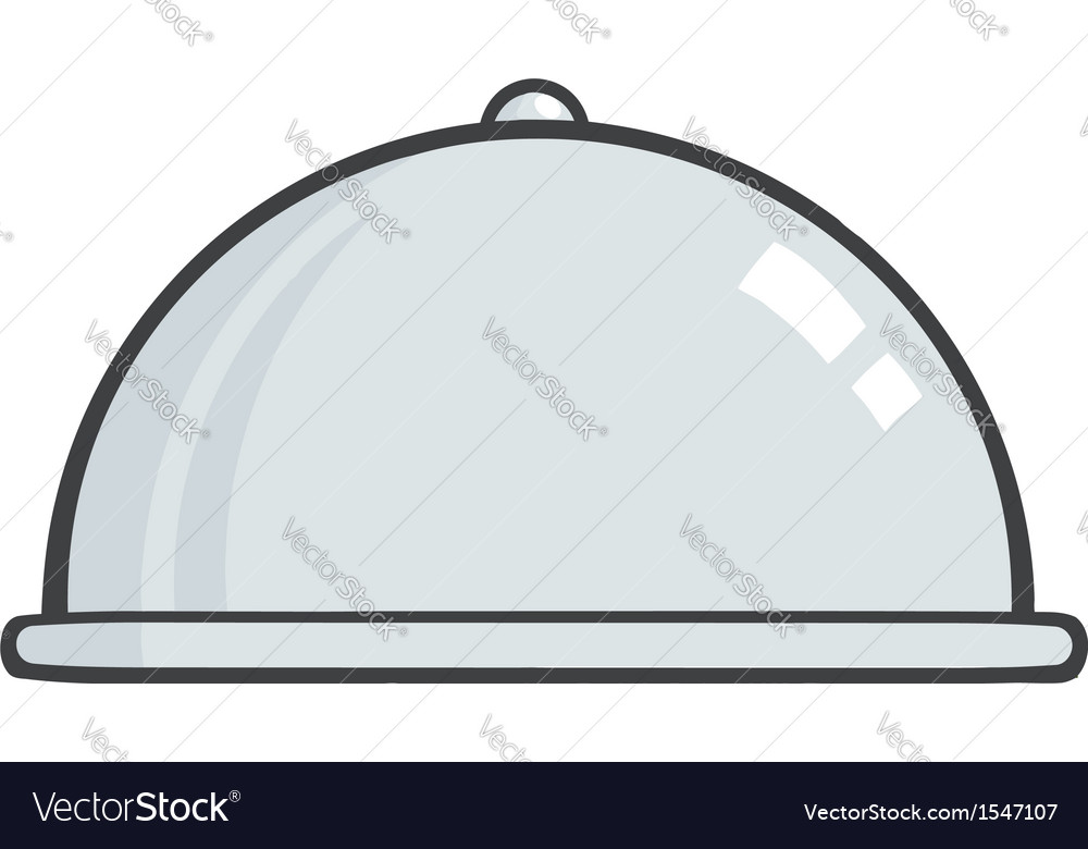 Serving tray icon vector | Price: 1 Credit (USD $1)