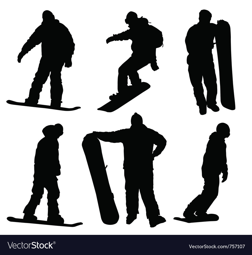 Snowboard vector | Price: 1 Credit (USD $1)