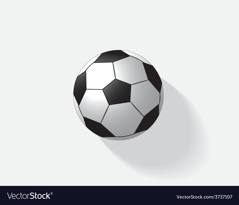 Soccer ball isolated vector | Price: 1 Credit (USD $1)