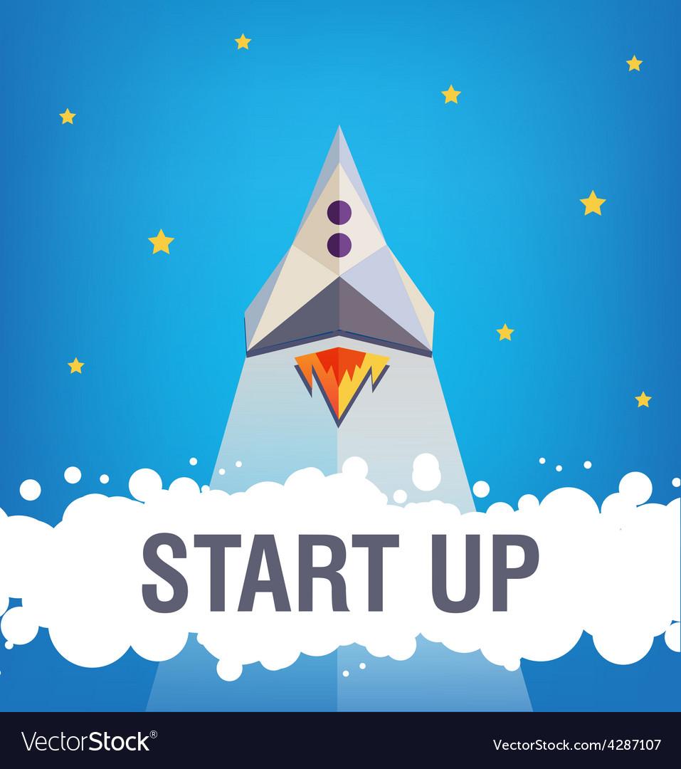 Start up graphic design vector | Price: 1 Credit (USD $1)