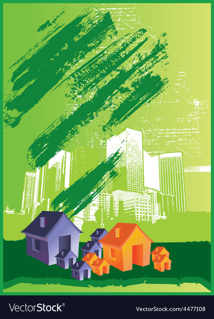 Abstract house vector   Price: 1 Credit (USD $1)