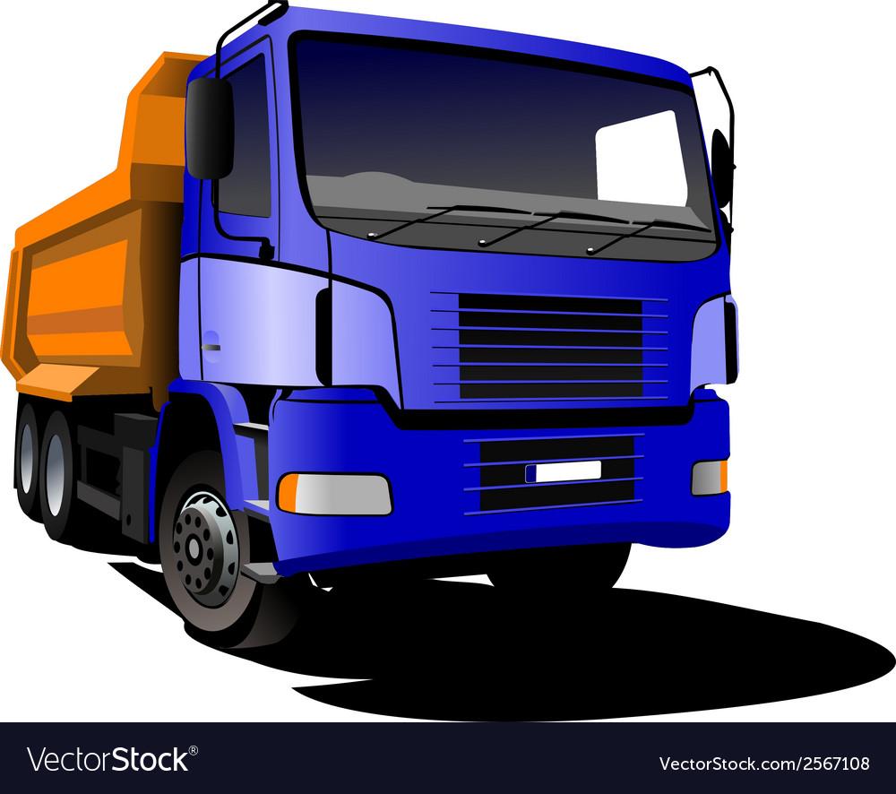 Al 0407 truck vector | Price: 1 Credit (USD $1)