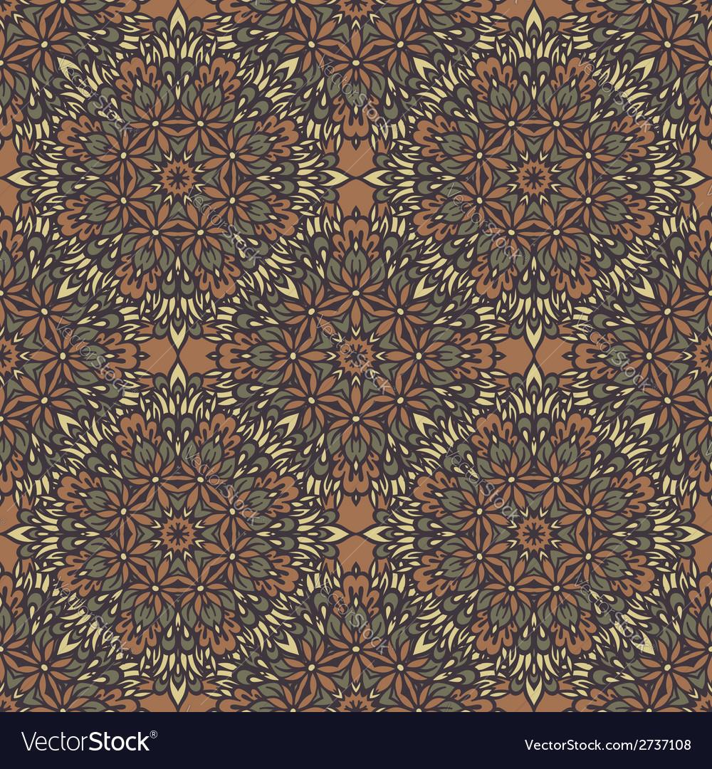 Arabesque seamless pattern vector | Price: 1 Credit (USD $1)