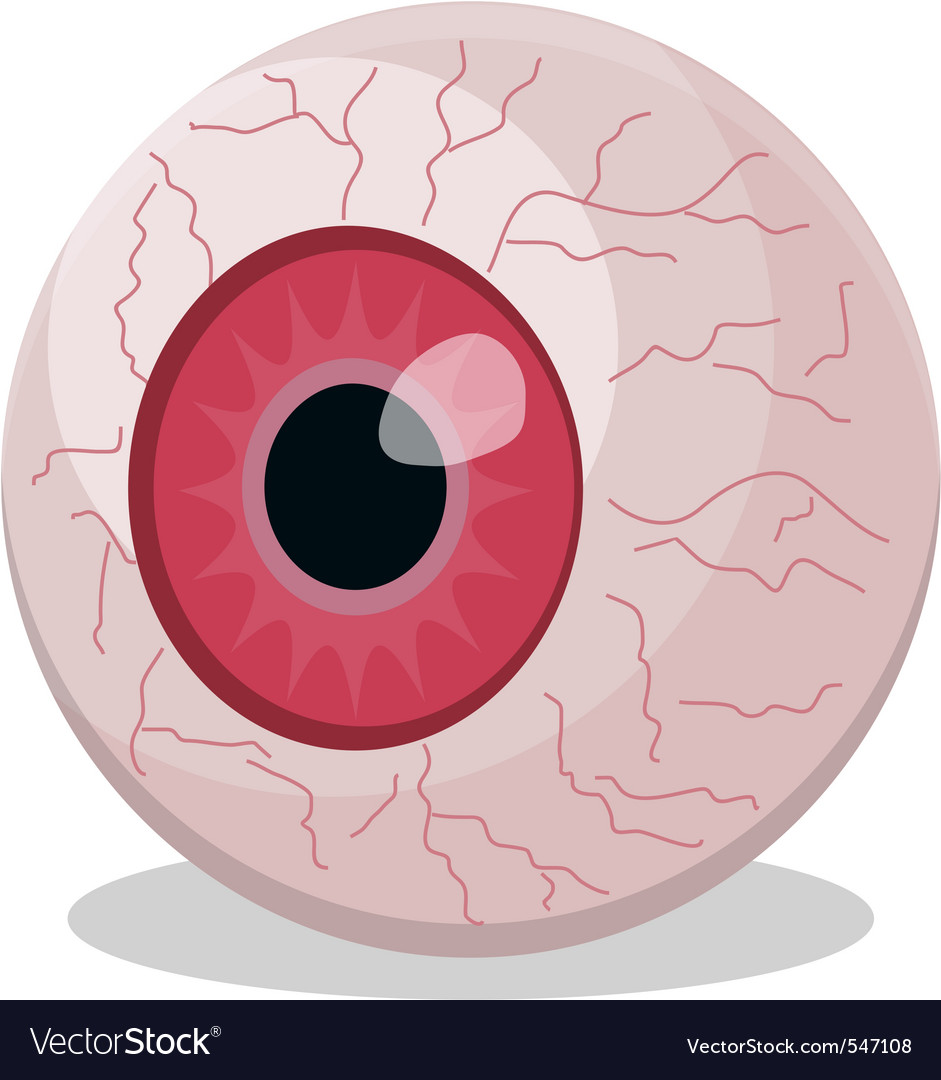 Eyeball isolated vector | Price: 1 Credit (USD $1)